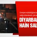 Diyarbakır'da polis lojmanına saldırı