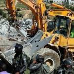 İsrail – Artık filistinlilerin evine beton döküyor