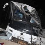 Balıkesir'de feci kaza sonucunda 8 ölü 42 yaralı